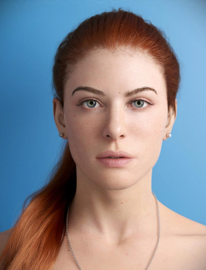 CGI Photography Portrait of a women
