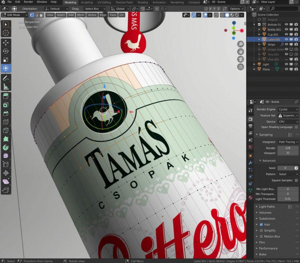 CGI beverage photography