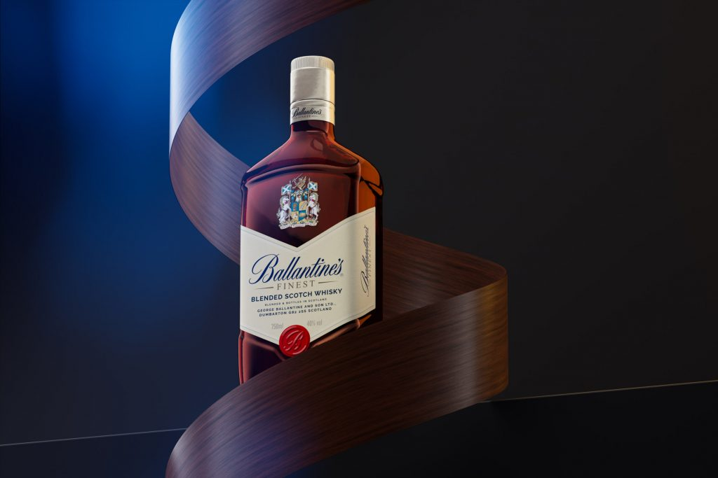 CGI whisky photography