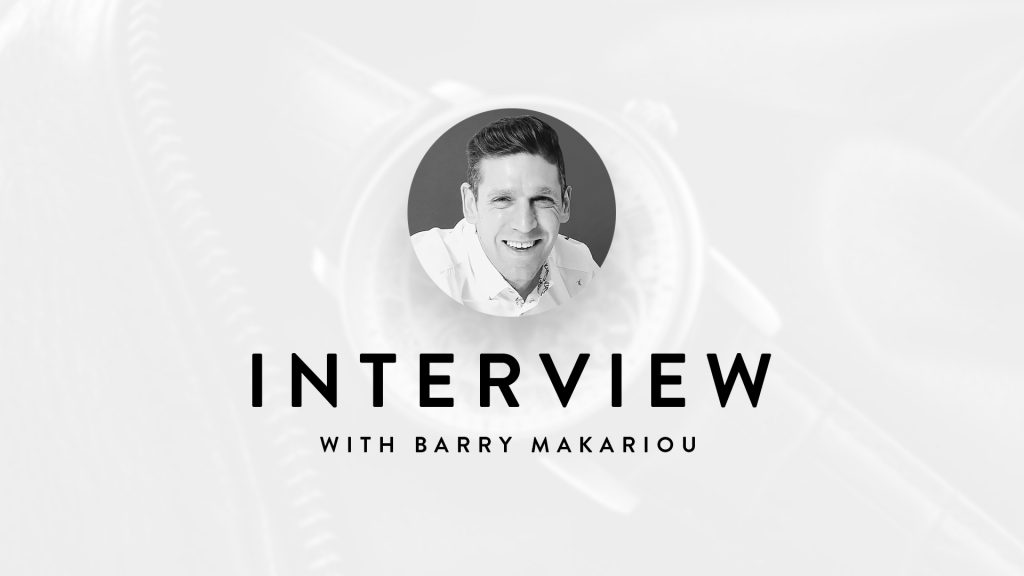 Interview Barry Makariou